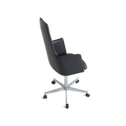 Fortuna high with castors | Task chairs | onecollection
