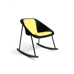Kola rocking upholstered | Lounge chairs | Inno