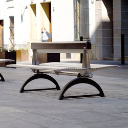 Libre Double | Exterior benches | Metalco