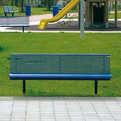 Libre | Exterior benches | Metalco