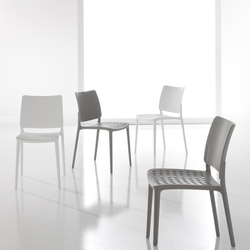 Blues | Chaises de cantine | Bonaldo