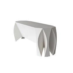 NOOK bench white | Restaurant seating systems | VIAL