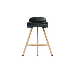 BCN stool on woolen base | Bar stools | Kristalia