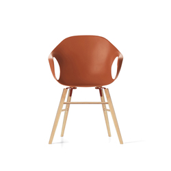 Elephant wood | Chairs | Kristalia