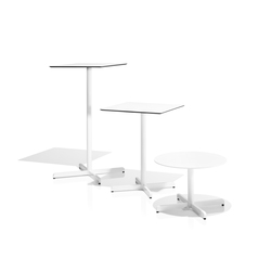Sit central leg tables | Tables de bistrot de jardin | Bivaq