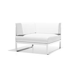 Sit corner module | Garden armchairs | Bivaq