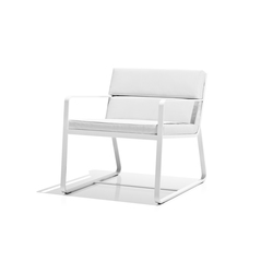 Sit low armchair white | Gartensessel | Bivaq