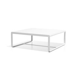 Sit low table white | Tavoli bassi da giardino | Bivaq