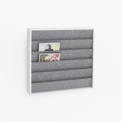 hochwertige zeitschriftenst nder halter. Black Bedroom Furniture Sets. Home Design Ideas