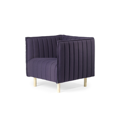 Kvilt Easy chair | Poltrone lounge | Gärsnäs