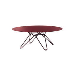 Tio Circular Coffee Table Metal | Tables basses de jardin | Massproductions