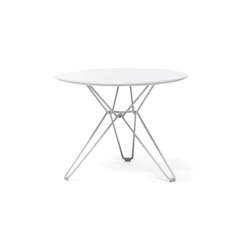 Tio Circular Low Table Laminate | Garten-Couchtische | Massproductions