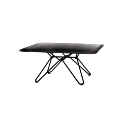 Tio Square Coffee Table Metal | Tables basses de jardin | Massproductions