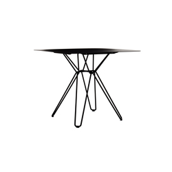 Tio Square Dining Table Metal | Mesas para restaurantes | Massproductions