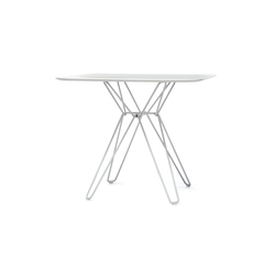 Tio Square Dining Table Laminate | Mesas de cantinas | Massproductions