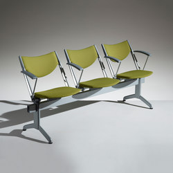 Conpasso tip-up seat on beam | Waiting area benches | Lamm