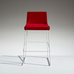Fleet Stool on a slide