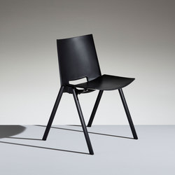 HL3 Fixed chair | Visitors chairs / Side chairs | Lamm