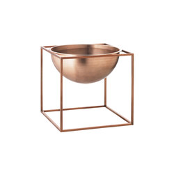 Kubus Bowl Large, copper | Schalen | by Lassen