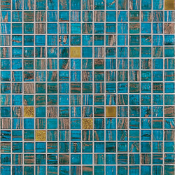 Gold Collection | Paolina | Mosaike quadratisch | Bisazza