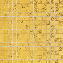 Gold Collection | King 20 | Mosaike quadratisch | Bisazza