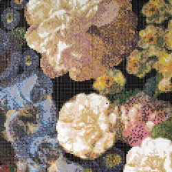 Bouquet B mosaic | Glass mosaics | Bisazza