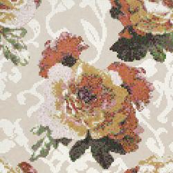 Fleurs Grigio mosaic | Glas Mosaike | Bisazza