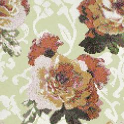 Fleurs Verde mosaic | Glass mosaics | Bisazza