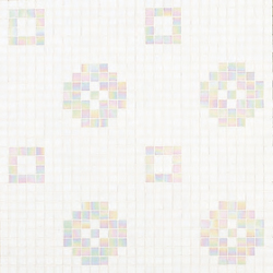 Petit Four Bianco | Glass mosaics | Bisazza