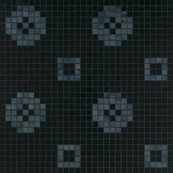 Petit Four Nero | Mosaici vetro | Bisazza