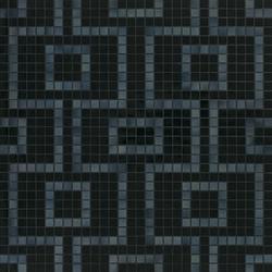 Labirinto Nero mosaic | Glass mosaics | Bisazza