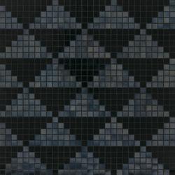 Giza Nero mosaic | Mosaïques verre | Bisazza