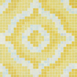 Velvet Cream mosaic | Glass mosaics | Bisazza