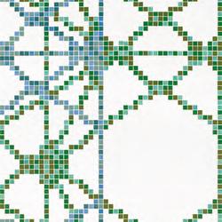 Treillage D mosaic | Mosaici | Bisazza