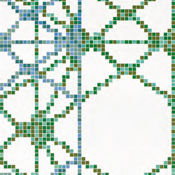 Treillage D mosaic | Glass mosaics | Bisazza