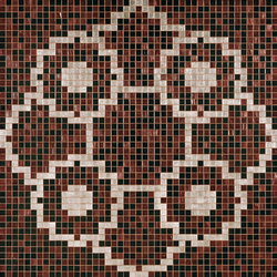 Linear De Rosas Marron mosaic | Mosaïques | Bisazza
