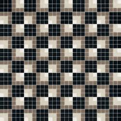 Vibration Noire Mosaic | Glass mosaics | Bisazza