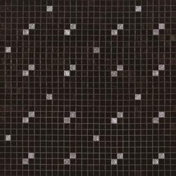 Diagonale Nero Oro mosaic | Mosaici in vetro | Bisazza