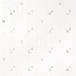Diagonale Bianco Oro mosaic | Mosaici | Bisazza