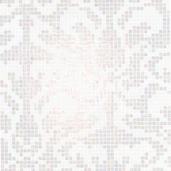 Damasco Bianco mosaic | Glass mosaics | Bisazza