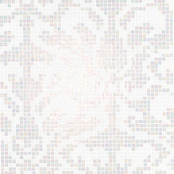 Damasco Bianco mosaic | Mosaicos de vidrio | Bisazza