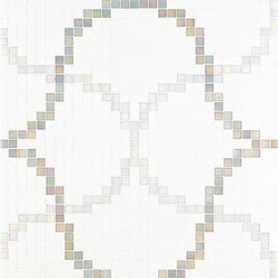 Liaisons Grey mosaic | Glass mosaics | Bisazza