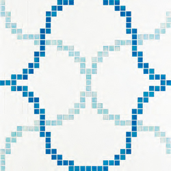 Liaisons Blue mosaic | Glass mosaics | Bisazza