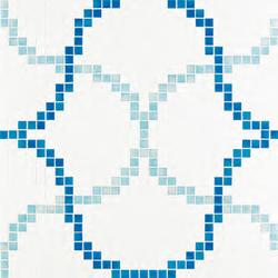 Liaisons Blue mosaic | Mosaïques verre | Bisazza
