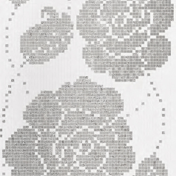 Winter Flowers Oro Bianco mosaic | Glass mosaics | Bisazza