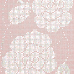 Winter Flowers Pink mosaic | Mosaici in vetro | Bisazza