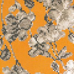 Hanami Arancio A/B mosaic | Glas Mosaike | Bisazza