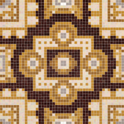 Silk Brown mosaic | Mosaici | Bisazza