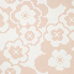 Garden Pink mosaic | Glass mosaics | Bisazza