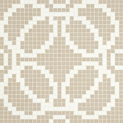 Circles Grey mosaic | Mosaïques | Bisazza